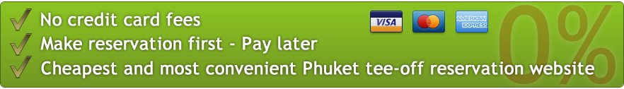 Discount Phuket Golf Course Tee Time Booking